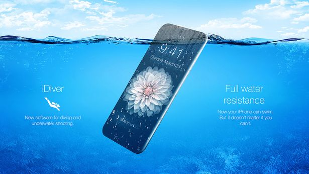Constructed using liquidmetal, the iPhone 7 could be completely waterproof