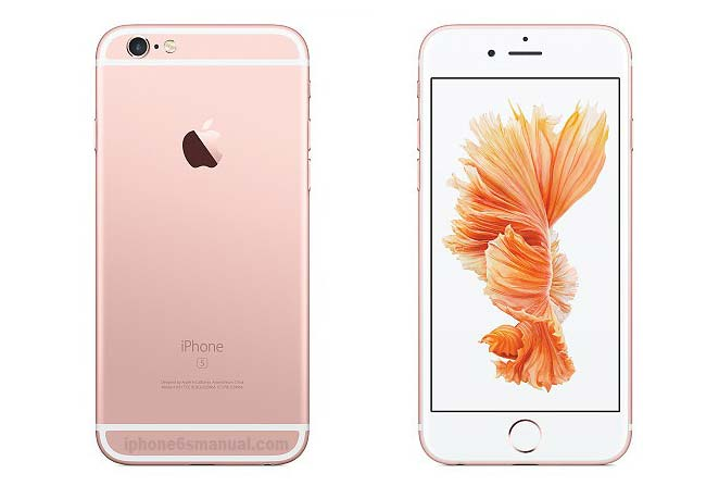 iPhone 6s Manual User Guide
